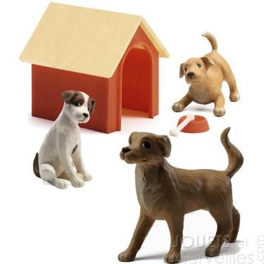 Les chiens Djeco 7818