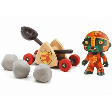 Arty Toys BALDY & BIG PAF djeco 6731