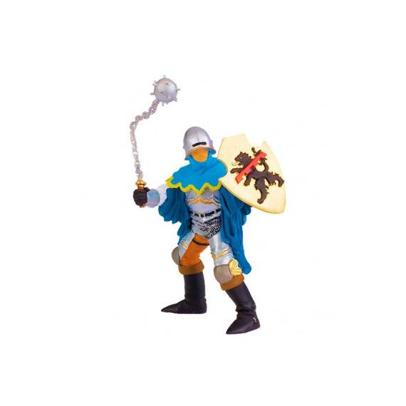 Officier masse d'arme Bleu, Figurine PAPO 39255