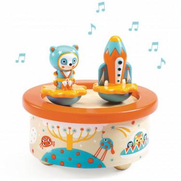 """Boîte à musique magnétique """"Space Melody"""" DJECO 6052"""