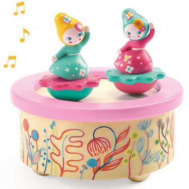 """Boîte à musique magnétique """"Flower Melody"""" DJECO 6051"""
