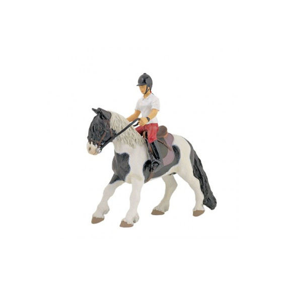 Jeune cavalière, figurine PAPO 52004