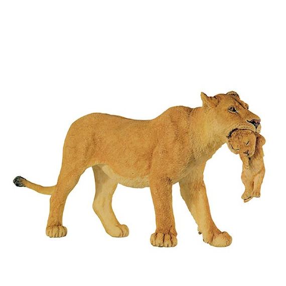 Lionne avec lionceau PAPO 50043