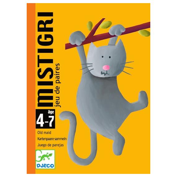 Mistigri, jeu de cartes DJECO DJO5105