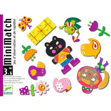 Minimatch, jeu de cartes DJECO DJO5175