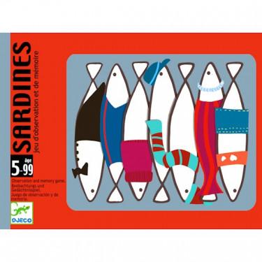 Sardines, jeu de cartes DJECO DJO5161