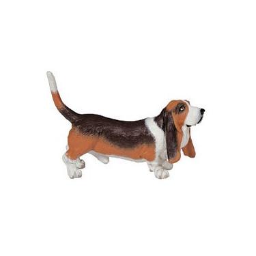 Basset Hound, chien figurine PAPO 54012