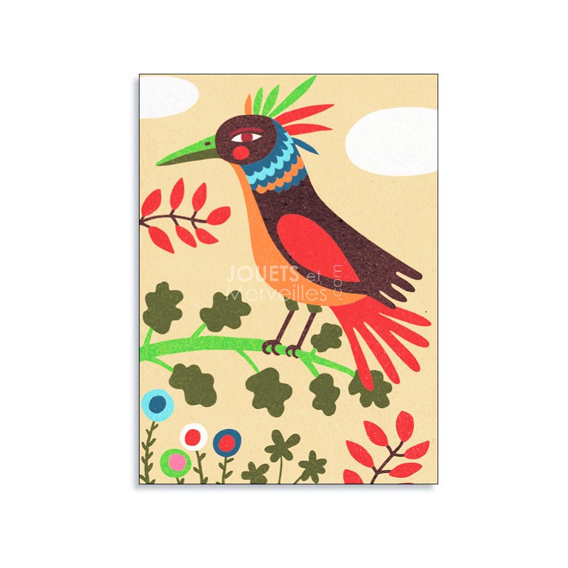 coffret sables colors oiseaux de paradis art au numro djeco djo8639 - Sable Color Djeco