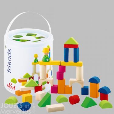 Set de cubes 35 pièces SEVI 82182