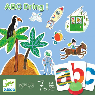 ABC Dring ! jeu DJECO DJO 8484