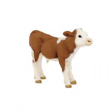 Veau simmental, figurine PAPO 51134