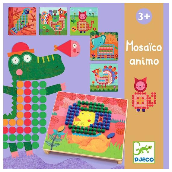 Mosaïco Animo, jeu de mosaïque DJECO 8137