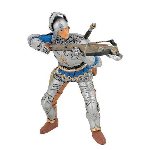 Arbalétrier bleu en armure, Figurine PAPO 39753