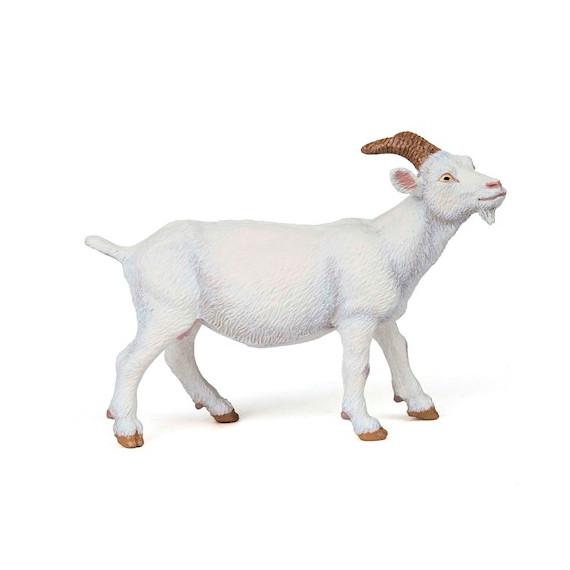 Chèvre blanche, figurine PAPO 51144
