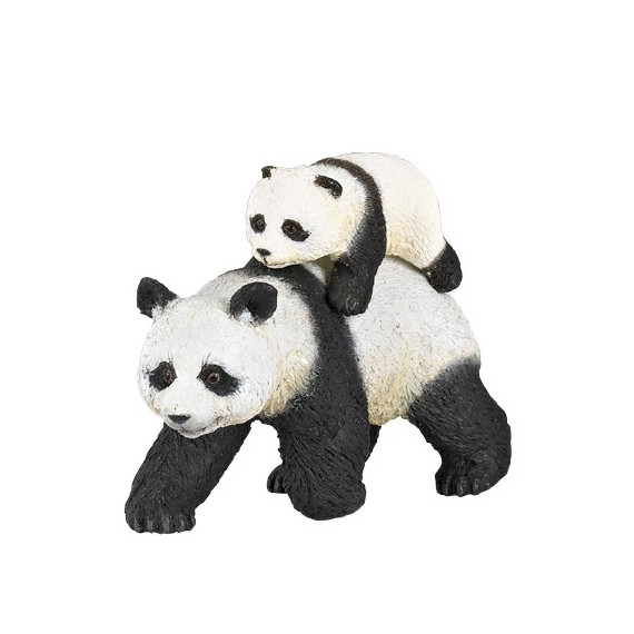 Panda et son bébé PAPO 50071