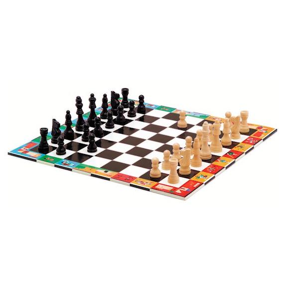 Jeu d'échecs et dames, DJECO DJO5225