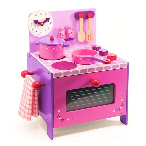 La cuisinière de Violette, jouet en bois DJECO DJO6510