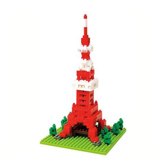 Tokyo tower nanoblock