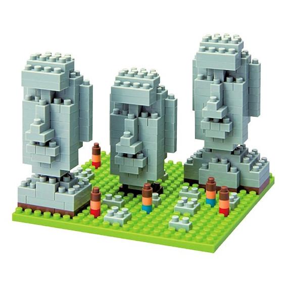 Moaï statues nanoblock
