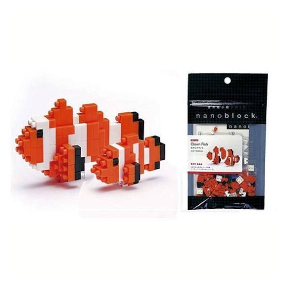poisson clown nanoblock