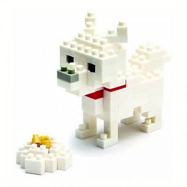 Hokkaido dog nanoblock