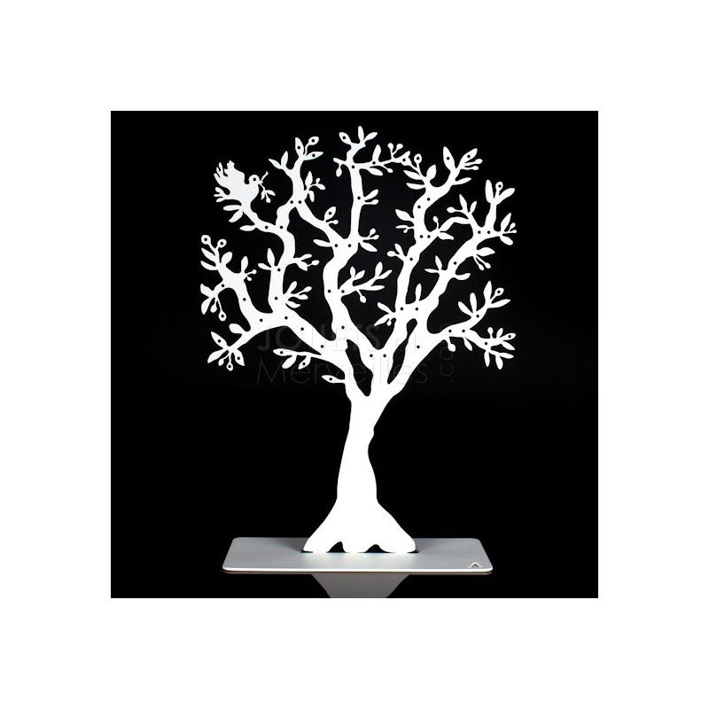 arbre bijoux m tal olivier blanc jouets et merveilles. Black Bedroom Furniture Sets. Home Design Ideas