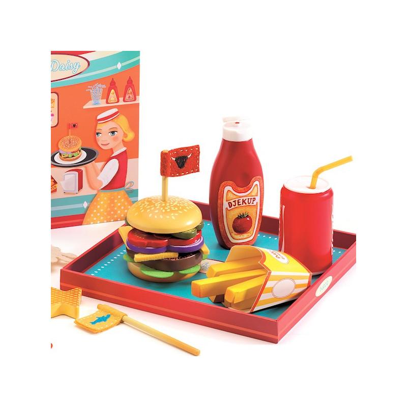Ricky et daisy jouet d nette djeco 6635 jouet djeco for Jouet dinette cuisine