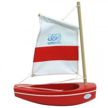 Optimiste rouge TIROT 22 cm, modèle 105