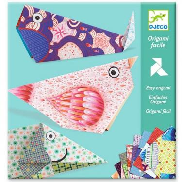 Origami facile 'Les grands animaux', DJECO 8776