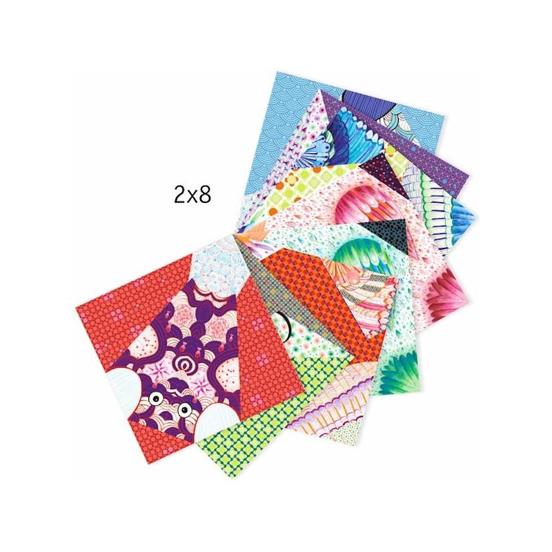 origami facile 39 les grands animaux 39 djeco 8776 jouets et merveilles. Black Bedroom Furniture Sets. Home Design Ideas