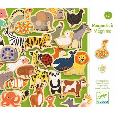 Magnimo, jeu magnétique DJECO 3124
