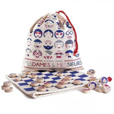 MESDAMES & MESSIEURS, jeu de dames 'Les Jouets Libres'