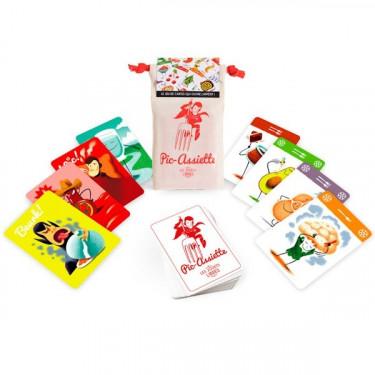 PIC-ASSIETTE, jeu de cartes 'Les Jouets Libres'