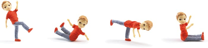 articulation des poupées DJECO