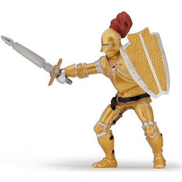 Chevalier or en armure, figurine PAPO 39778
