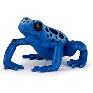 Grenouille équatoriale bleue, figurine PAPO 50175