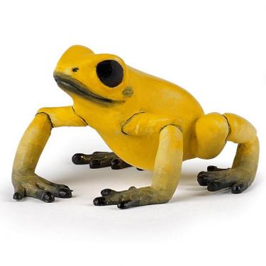 Grenouille équatoriale jaune, figurine PAPO 50174