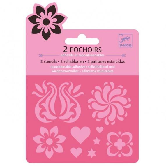 Mini pochoirs 'Ornements' DJECO 9744