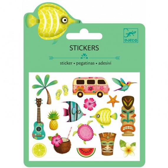 Mini stickers en relief 'Hawaï' DJECO 9769