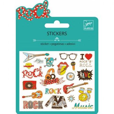 Mini stickers métallisés 'Rock' DJECO 9767