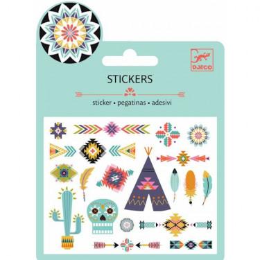 Mini stickers métallisés 'Grand Ouest' DJECO 9766