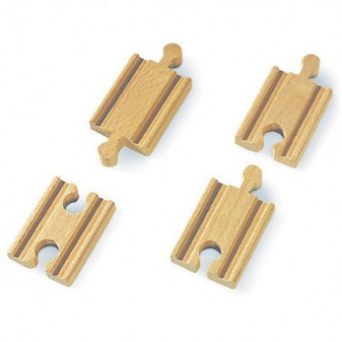 Mini-droites mixtes 54 mm rails train BRIO 33333