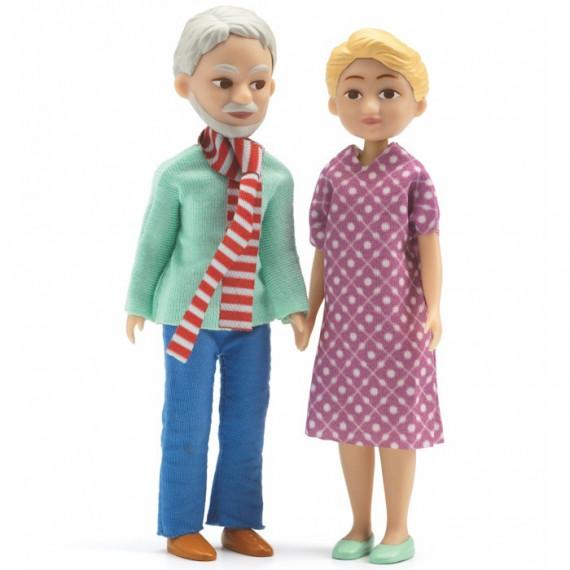 Poupées grands-parents Djeco 7816