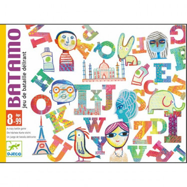 Batamo, jeu de bataille délirant DJECO DJO5189