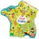 Puzzle carte des merveilles de France 300 pcs VILAC 2726