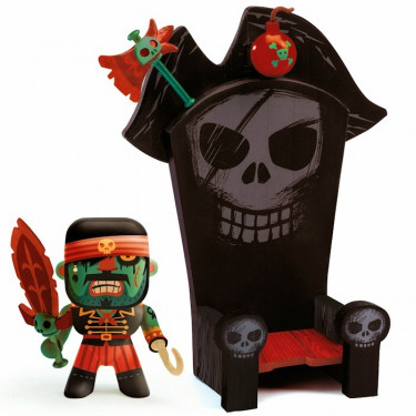 Arty Toys Kyle & ze throne DJECO 6813