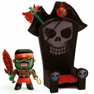 Arty Toys Kyle & ze throne DJECO 6813
