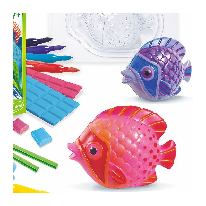 Eco moulage popsine les poissons tropicaux sentosph re for Jouet aquarium poisson