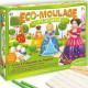 """Eco-Moulage Popsine """"Les princesses"""" Sentosphère 2633"""