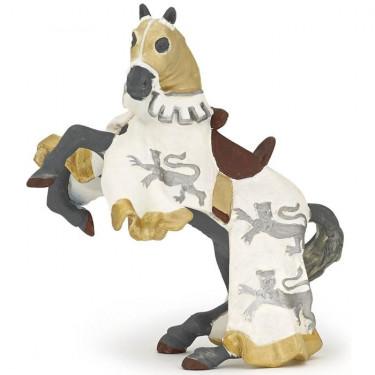 Cheval du Roi Richard blanc PAPO 39784